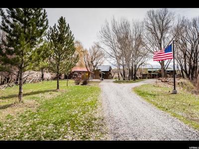 Preston Single Family Home Under Contract: 1219 W Oneida
