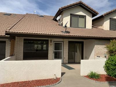 St. George Townhouse For Sale: 490 E 700 S #3