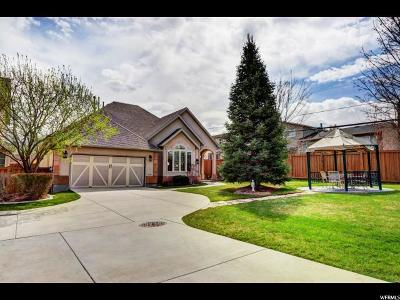 Cottonwood Heights Single Family Home For Sale: 7195 S Villandrie Ln E