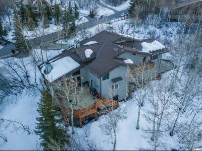 Park City Single Family Home For Sale: 2523 Aspen Springs Dr
