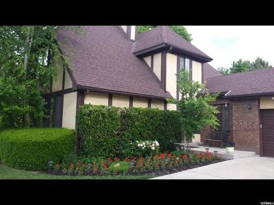 Holladay Single Family Home For Sale: 1478 E Meadowmoor Rd