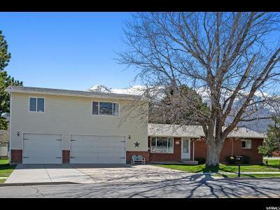 South Weber Single Family Home For Sale: 7460 S 1900 E