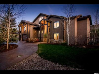 Park City Single Family Home For Sale: 3239 Creek Rd