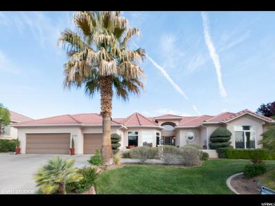 St. George Single Family Home For Sale: 2548 W Desert Springs