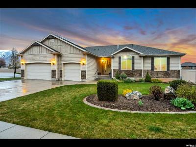 Kaysville Single Family Home For Sale: 465 Spur Ct