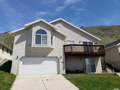 Provo Single Family Home For Sale: 1209 S Slate Canyon Dr
