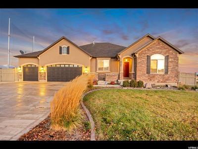Eagle Mountain Single Family Home Under Contract: 8796 N Stonebridge