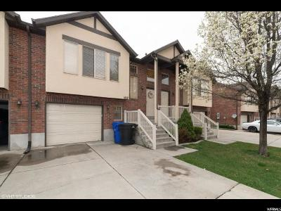 Bountiful Townhouse For Sale: 1817 N Pages Place Dr