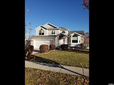 South Weber Single Family Home Under Contract: 2012 E Cedar Loop Dr
