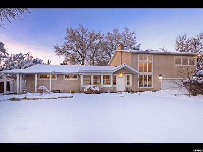 Holladay Single Family Home For Sale: 1669 E Merribee Way