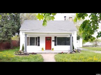 Single Family Home For Sale: 1146 S 400 E