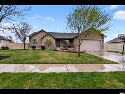 Spanish Fork Single Family Home For Sale: 1539 E 390 N