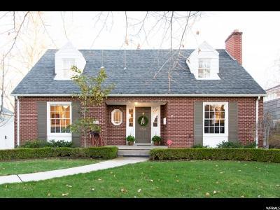 Salt Lake City UT Single Family Home For Sale: $925,000