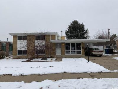 Kaysville Single Family Home Under Contract: 363 E 500 N