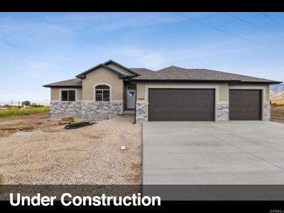 Tooele County Single Family Home For Sale: 1237 E 270 S #2