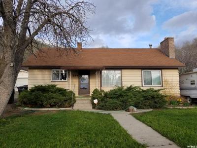 Springville Single Family Home For Sale: 284 N 800 E