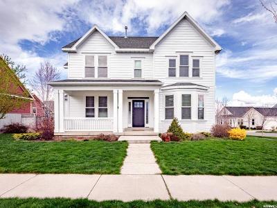 South Jordan Single Family Home For Sale: 4374 W Iron Mountain Dr S