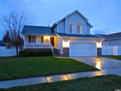 Herriman Single Family Home Under Contract: 5761 W Premier Ln S
