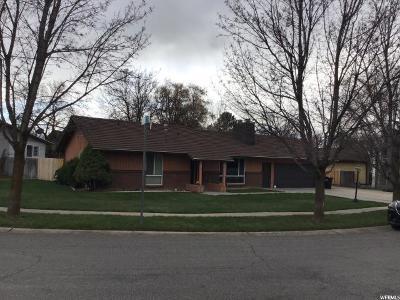 North Logan Single Family Home Under Contract: 1698 E 1700 N