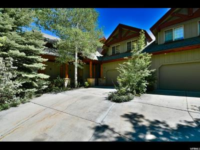 Park City Townhouse For Sale: 1386 W Meadow Loop Rd