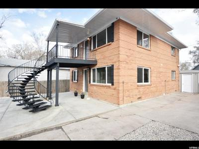 Salt Lake City Multi Family Home For Sale: 339 E Blaine Ave