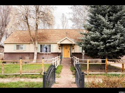 Wasatch County Single Family Home For Sale: 176 W 200 S