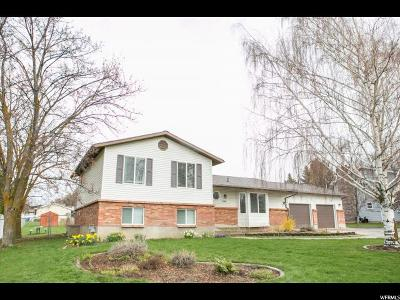 North Logan Single Family Home Under Contract: 1057 E 1900 N
