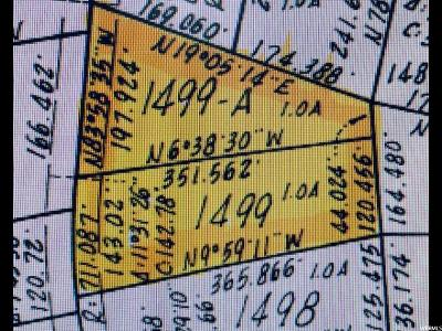 Wasatch County Residential Lots & Land For Sale: 7498 E Oak View Dr