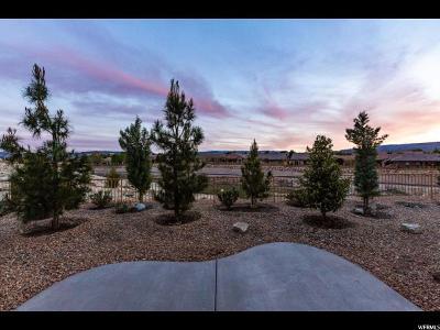 St. George Single Family Home For Sale: 1235 W Desert Sparrow Cir
