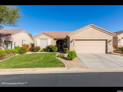St. George Single Family Home For Sale: 1814 W Warm River Dr