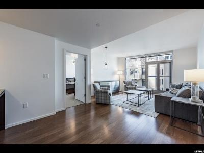 Salt Lake City Condo For Sale: 35 E 100 St S #1208