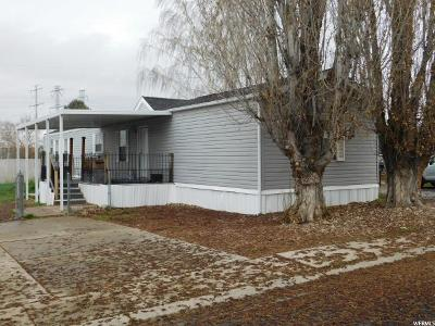 Clearfield Single Family Home Under Contract: 1350 W 300 N #41