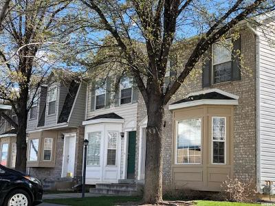 Spanish Fork Townhouse For Sale: 57 N Southgate Loop