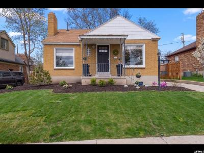 Salt Lake City Single Family Home For Sale: 1563 E Roosevelt