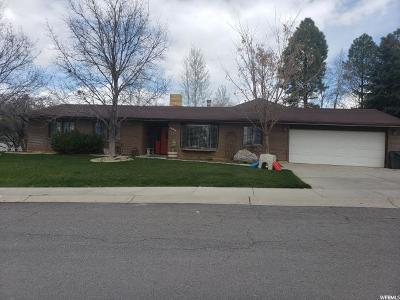 Nephi Single Family Home Under Contract: 589 E 1250 N