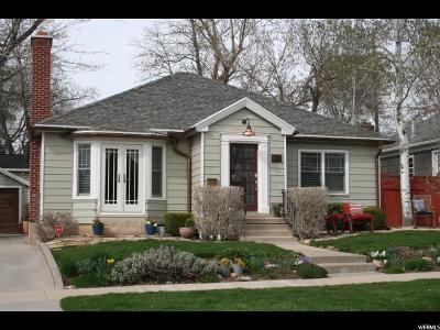 Salt Lake City Single Family Home For Sale: 1877 E Harvard Ave S