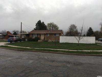 Orem Single Family Home For Sale: 1485 S 640 E