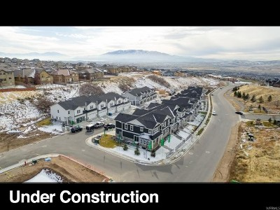 Lehi Townhouse For Sale: 5088 N Marble Fox Way #241