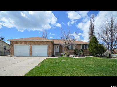 Kaysville Single Family Home For Sale: 520 S Lambert Way E