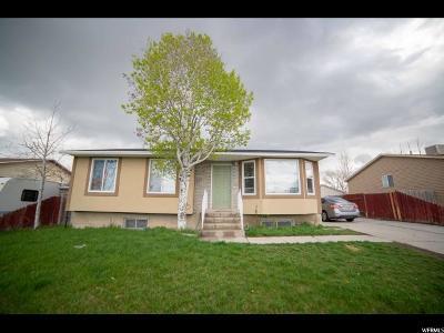 Salt Lake City Single Family Home For Sale: 3957 S 6955 W
