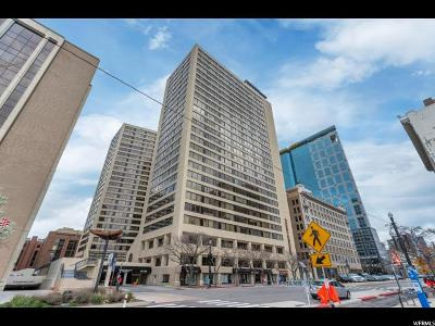 Salt Lake City Condo For Sale: 48 W 300 S #1102N