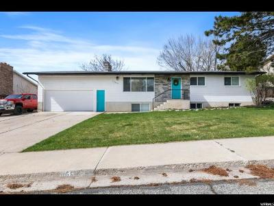 Pleasant Grove Single Family Home For Sale: 1055 E 500 S