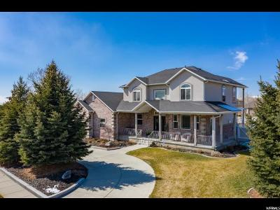 Highland Single Family Home Under Contract: 10371 N 5300 W