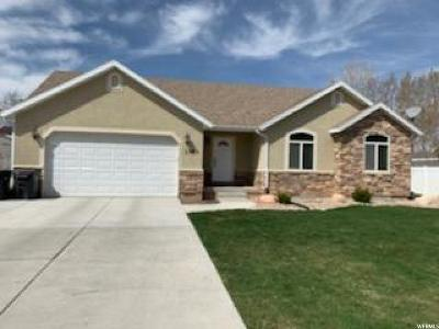 Nephi Single Family Home Under Contract: 1383 N 100 E