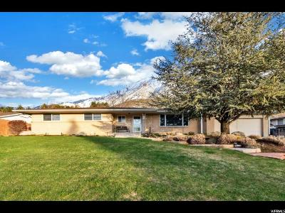 Holladay Single Family Home For Sale: 4531 S Fortuna Way