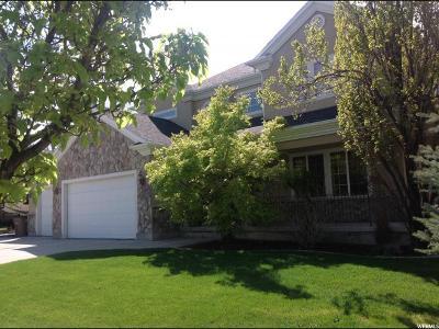 Draper Single Family Home For Sale: 912 E Kaseys Cir. Cir S