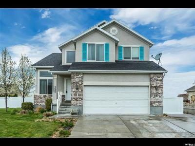 Stansbury Park Single Family Home Backup: 5689 N Lighthouse Ln W