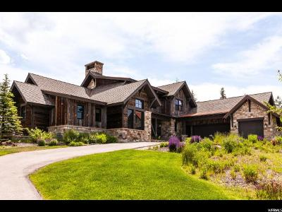 Park City Single Family Home For Sale: 8035 Glenwild Dr