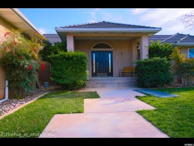 St. George Single Family Home For Sale: 1008 E 1720 S