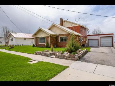 Smithfield Single Family Home Under Contract: 169 N 300 W